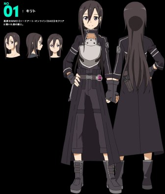 Sword-Art-Online Season 2 Character Design Kirito