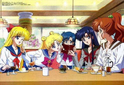 Sailor Moon Crystal Magazine Scan 2