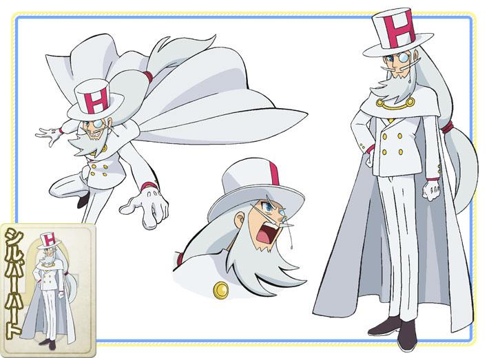 Kaitou-Joker-Anime-Character-Design-Silver Heart