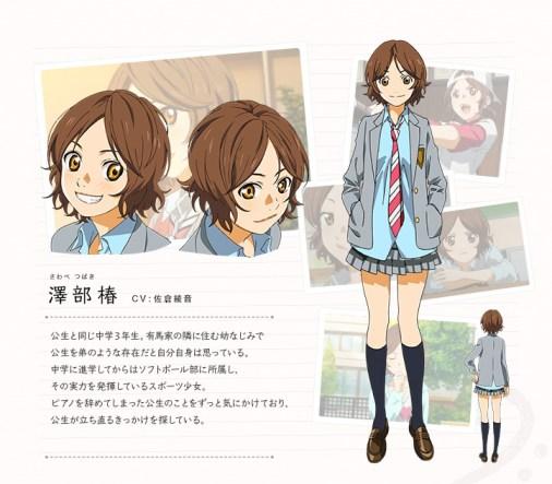 Shigatsu-wa-Kimi-no-Uso-Character-Design-Tsubaki-Sawabe-1