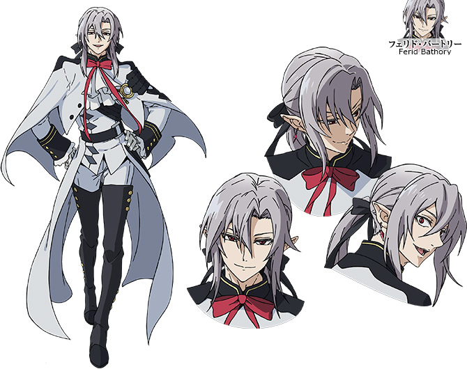 Character Design For Anime : Owari no seraph anime to be split cour new visual cast