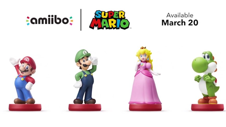 amiibo-Mario-Lineup