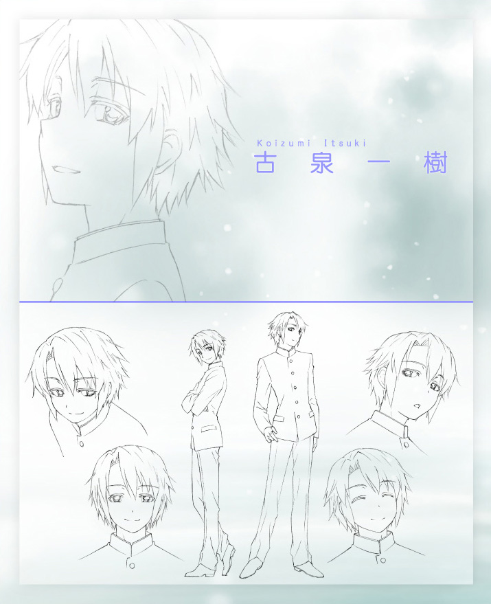 Disappearance-of-Nagato-Yuki-Chan-Anime-Character-Design-Itsuki-Koizumi
