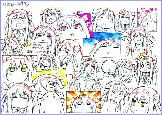 The-Disappearance-of-Nagato-Yuki-Chan-Anime-Character-Design-Sheet-Haruhi-Suzumiya