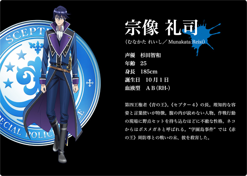 K-Return-of-Kings-Character-Design-Reisi-Munakata