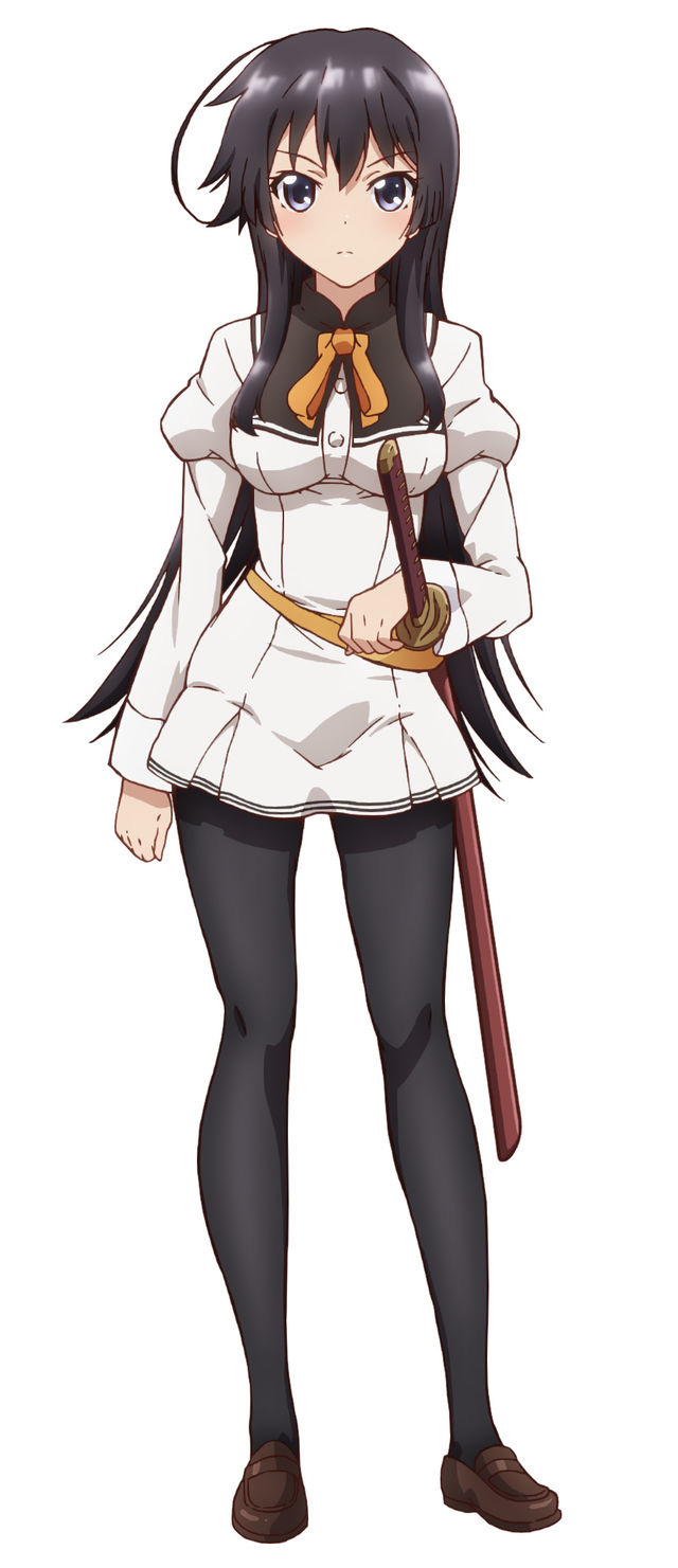 Ore-ga-Ojou-sama-Gakkou-ni-Shomin-Sample-Toshite-Gets Sareta Ken-Character-Designs-Karen-Jinryou
