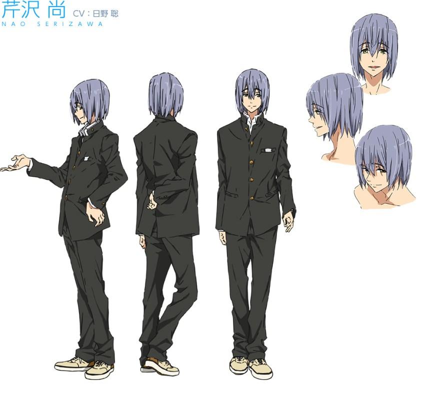 High☆Speed!--Free!-Starting-Days-Character-Designs-Nao-Serizawa