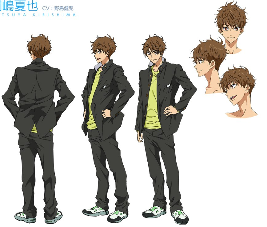 High☆Speed!--Free!-Starting-Days-Character-Designs-Natsuya-Kirishima