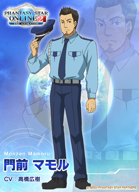 Phantasy-Star-Online-2-The-Animation-Character-Designs-Mamoru-Monzen