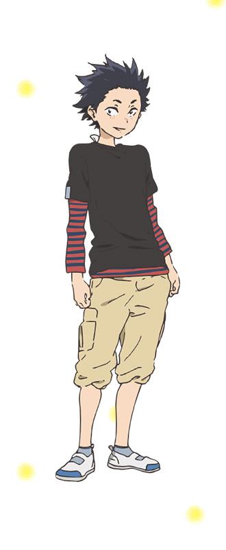 Koe-no-Katachi-Character-Designs-Young-Shouya-Ishida