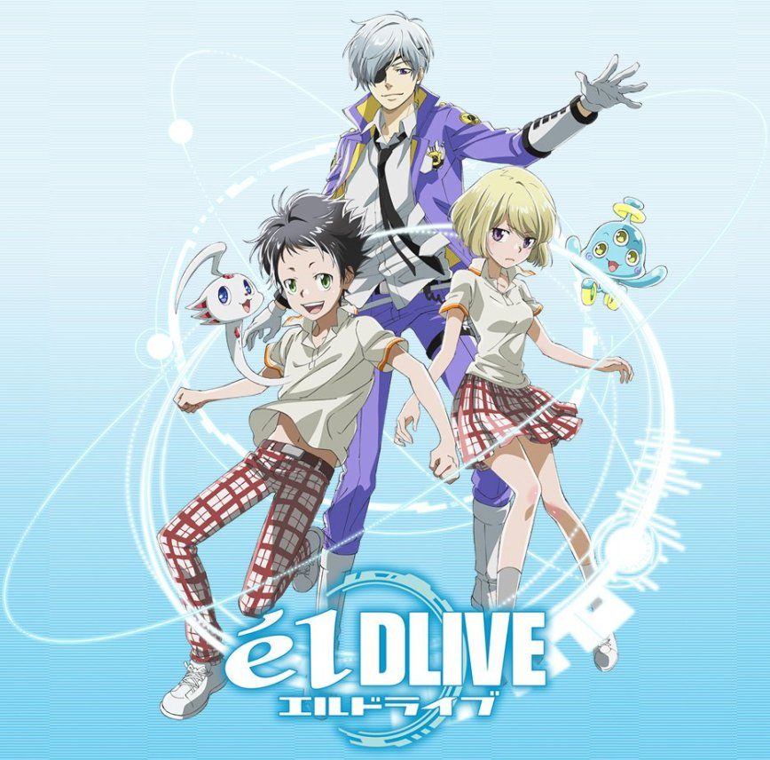 elDLIVE-TV-Anime-Visual