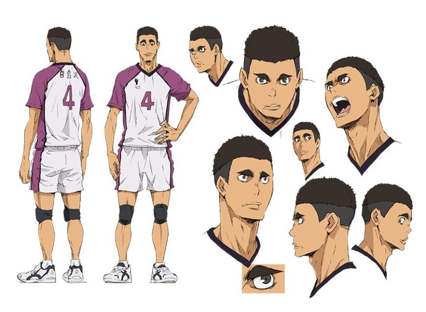 Haikyuu-Karasuno-Koukou-VS-Shiratorizawa-Gakuen-Koukou-Character-Designs-Leon-Ohira