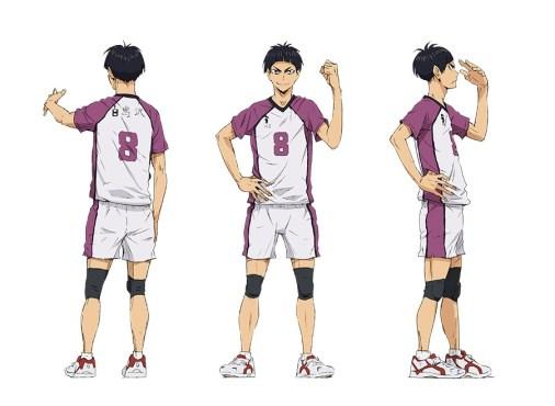 Haikyuu-Karasuno-Koukou-VS-Shiratorizawa-Gakuen-Koukou-Character-Designs-Tsutomu-Goshiki-02