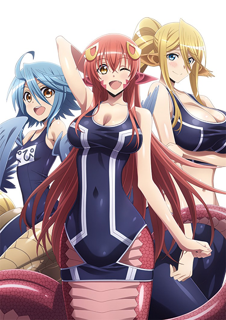 Monster-Musume-OVA-Papi-Miia-and-Cerea-Visual