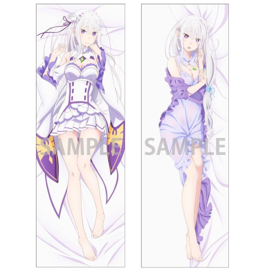 Emilia-Dakimakura-Cover