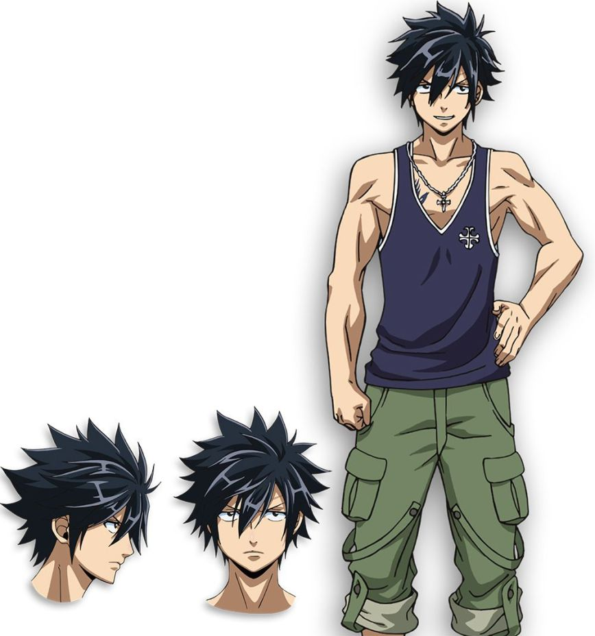Fairy-Tail-Dragon-Cry-Character-Designs-Gray-Fullbuster