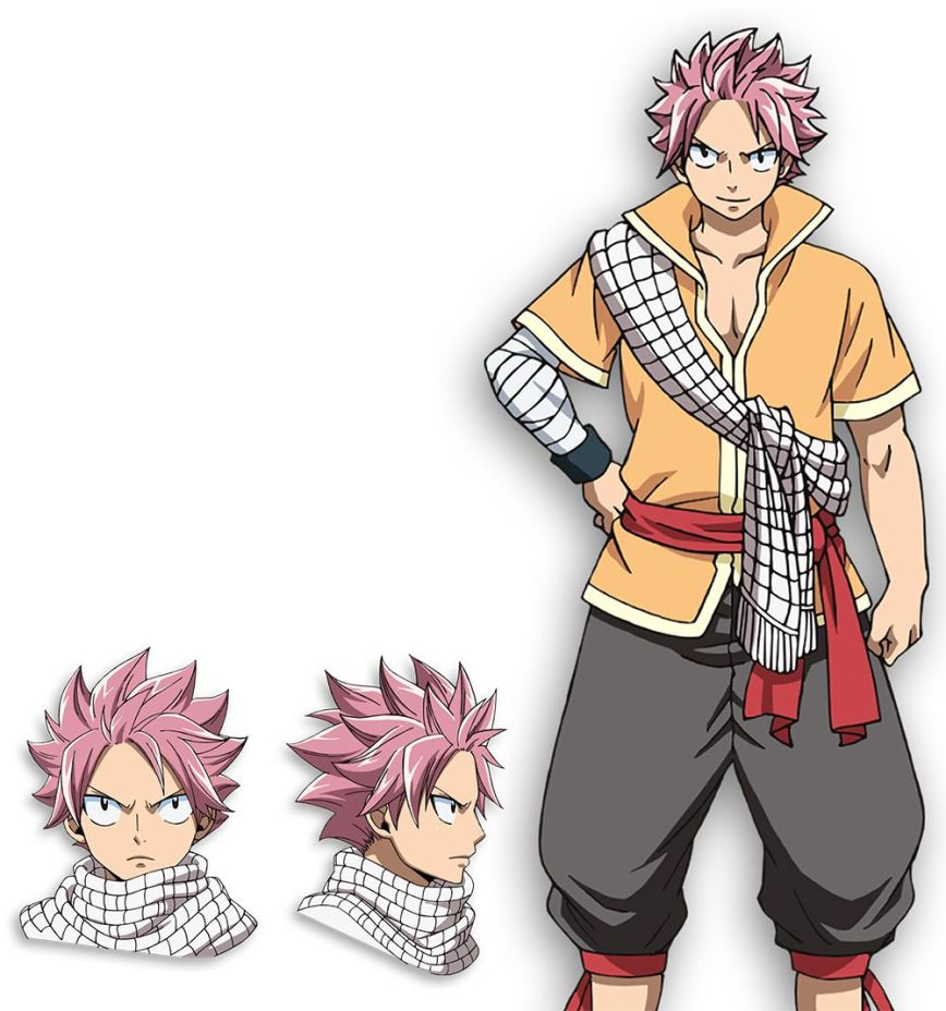 Fairy-Tail-Dragon-Cry-Character-Designs-Natsu-Dragneel