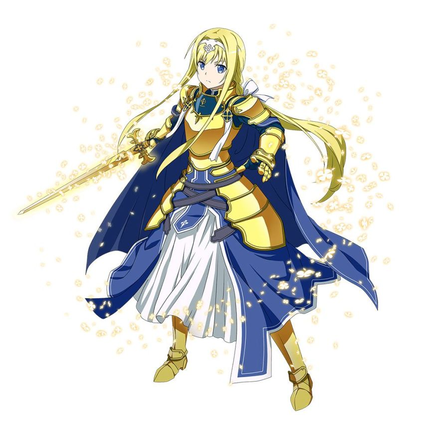 Sword Art Online Video Game Project Alicization Alice