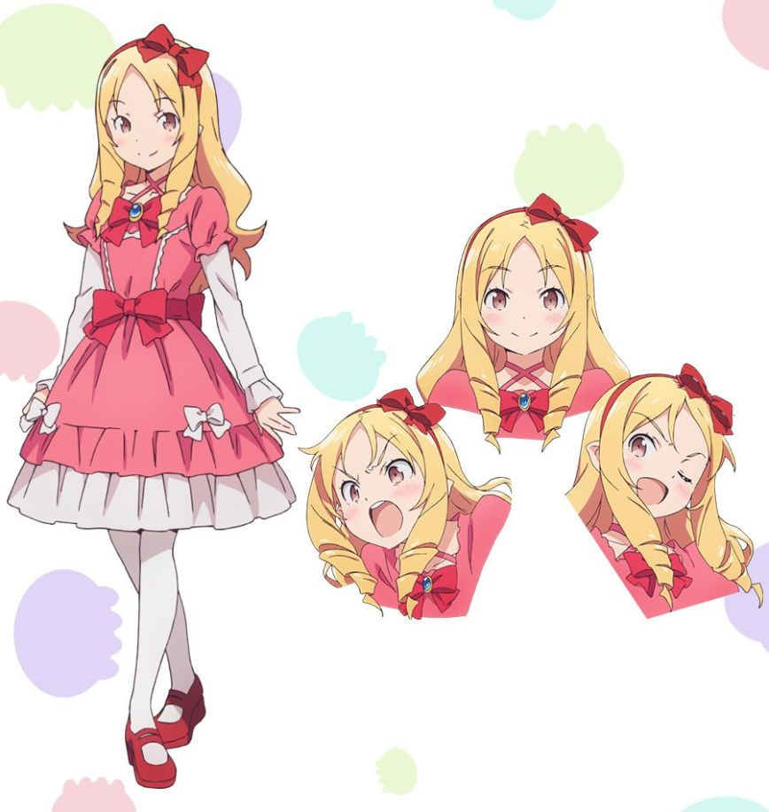 eromanga-sensei-anime-Updated-character-designs-Elf-Yamada