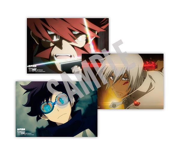 Kekkai-Sensen-Anime-Blu-ray-Boxset-Bonus-Tsutaya
