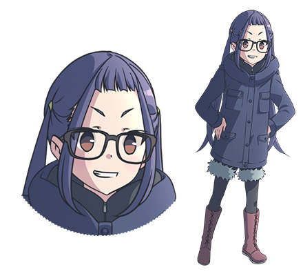 Yuru-Camp-Anime-Character-Designs-Chiaki-Oogaki