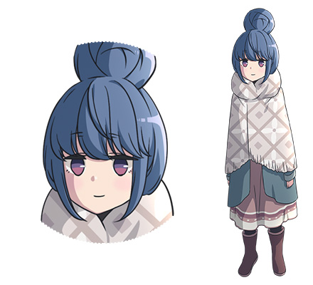 Yuru-Camp-Anime-Character-Designs-Rin-Shima