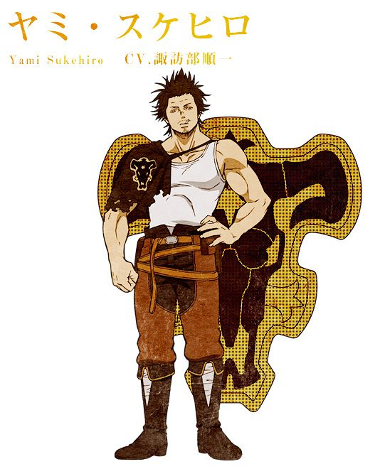 NEW AGE تقرير عن كابتن يامي سوكيهيرو Yami Sukehiro Black-Clover-TV-Anime-Character-Designs-Yami-Sukehiro