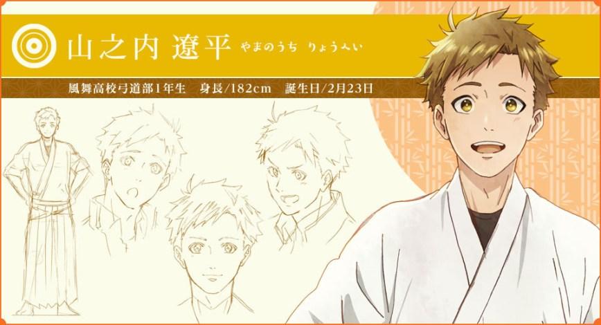 Tsurune-Character-Ryohei-Yamanouchi