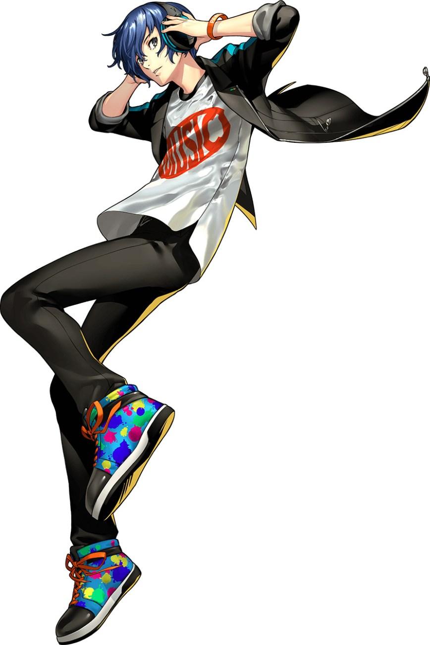 Persona 3 Dancing Moon Night-Character-Visual-Makoto-Yuki