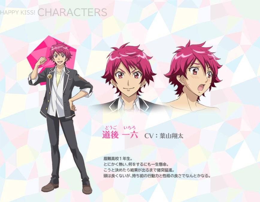 Binan-Koukou-Chikyuu-Bouei-bu-Happy-Kiss!-Character-Designs-Ichiro-Dougo