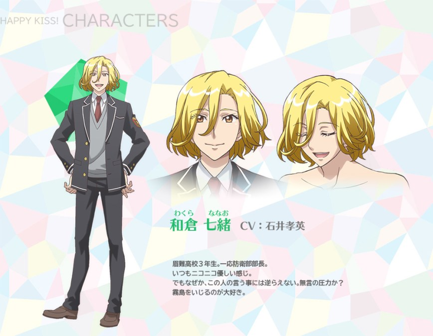 Binan-Koukou-Chikyuu-Bouei-bu-Happy-Kiss!-Character-Designs-Nanao-Wakura