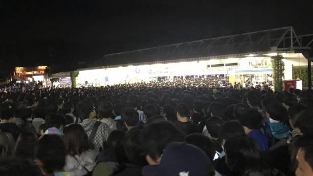 Idolm@ster Fans Stranded