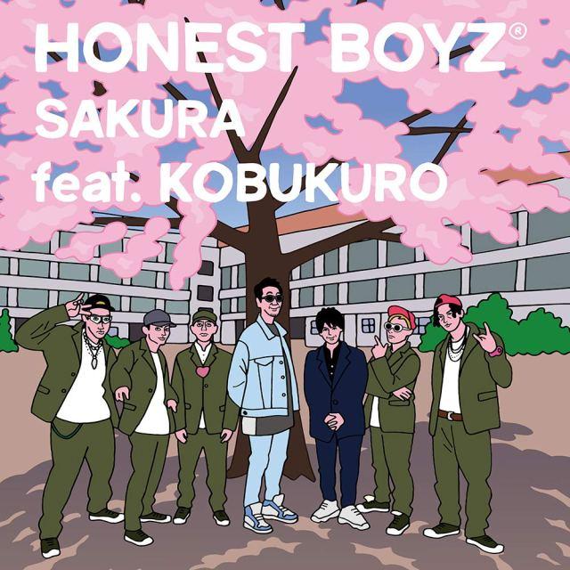 HONEST BOYZ® to Release SAKURA feat. KOBUKURO in March
