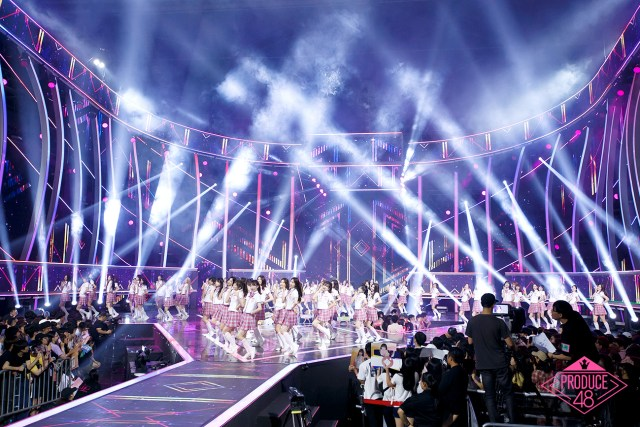 Produce48 Live Performance