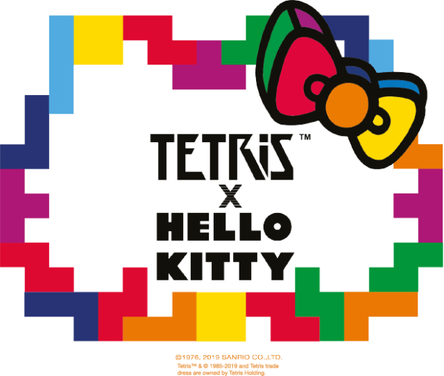 The Tetris Company Becomes the Latest Brand to Collaborate with Hello Kitty