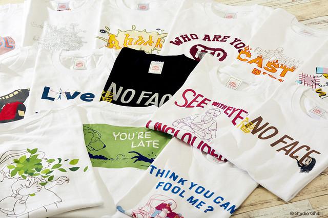 More new Ghibli shirts