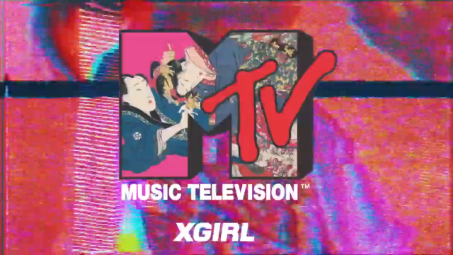 X-Girl and MTV Utilize Traditional Japanese Art In This New Collection