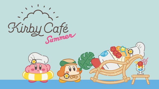 Kirby Cafe Unveils its Brand-New Summer Menu
