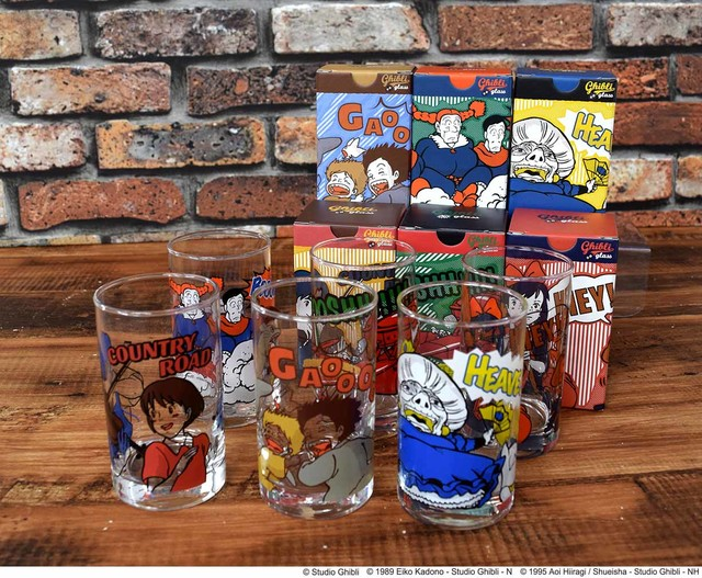 Ghibli Glass Cups