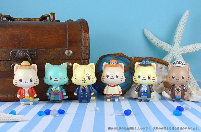 One Piece With CATS Figures