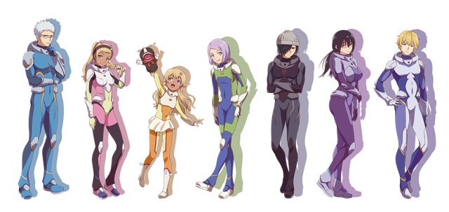 Image result for astra lost in space anime characters