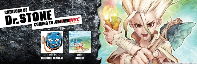 Dr. STONE Creators Coming To Anime NYC