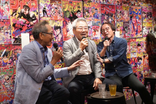 'Otona no Jump Sakaba' Gathers Three Generations of Jump Chiefs for Grand Opening