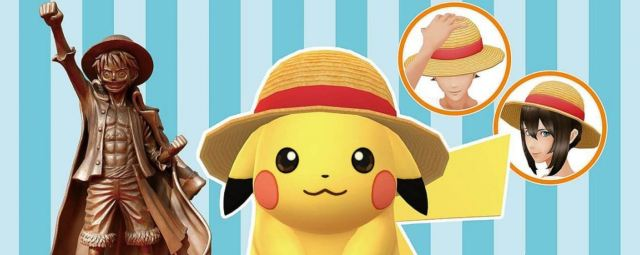 Pokémon Go Teams Up With One Piece
