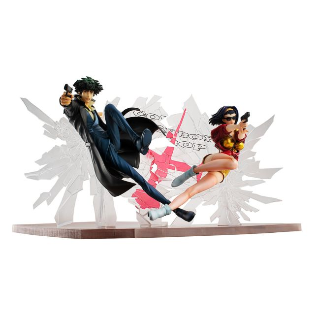 Spike Spiegel and Faye Valentine 1st gig figure