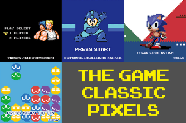 Uniqlo Turn Pixel Art into Clothing with New 'The Game Classic Pixels' UT Collection