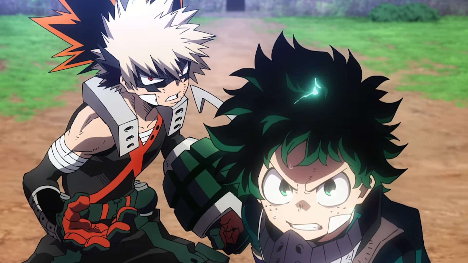 First My Hero Academia Heroes Rising Trailer Previews Final Battle New Villain Nine Otaquest