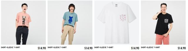 UNIQLO RE-releasing KAWS Summer UT Collection on 8/16