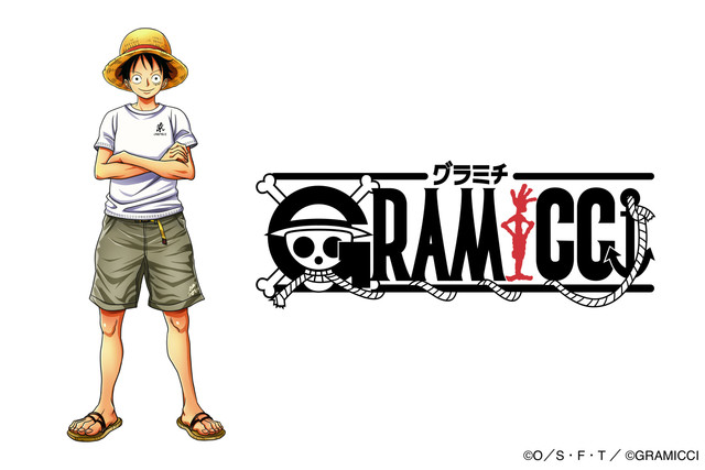 One Piece and Gramicci Team Up For Limited Pop-Up