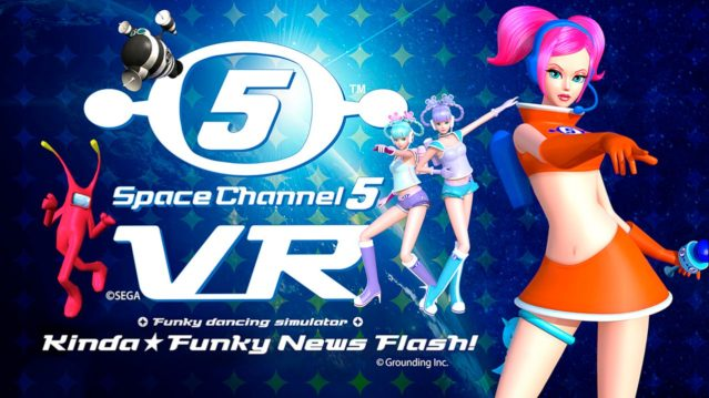 Space Channel 5 VR's Tokyo Games Show Demo Brings Players Into It's Unique Space Station World